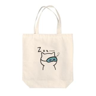 おやすみネコさん Tote bags