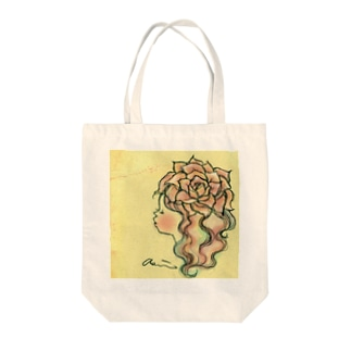 kaeruruの薔薇 Tote bags