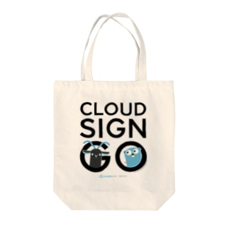 CLOUDSIGN GO Tote bags