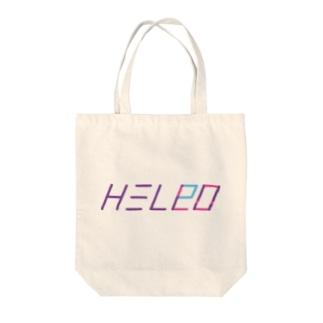 HEL(P)LO Tote bags