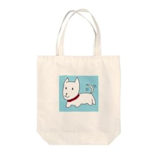 ポチくん Tote bags