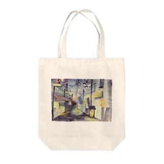 黄昏のバーボンロード Tote bags