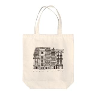 【黒線】LONDON CITY Tote bags