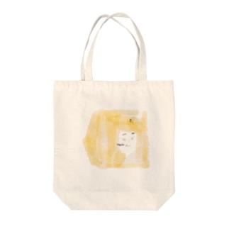 Hachi Tote bags