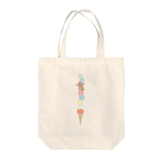 太陽系アイスクリーム Tote bags