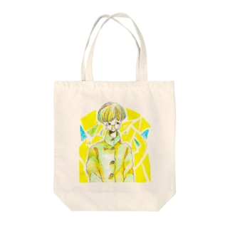 さんかく Tote bags