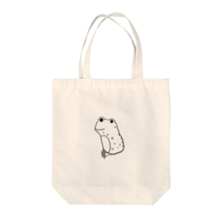 カエルのヨコイさん Tote bags