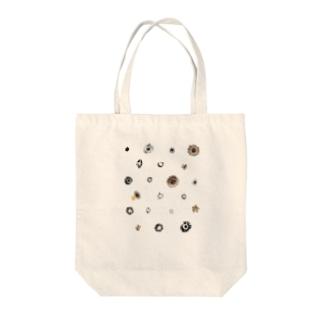 クリムトの花◆ドット Tote bags
