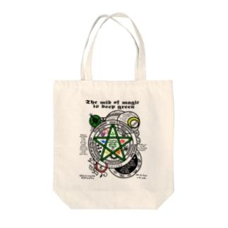 The mid magic_透過最新 Tote bags