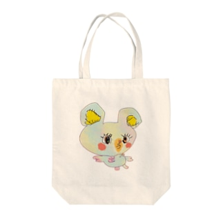 ちゅっちゅちゃん Tote bags