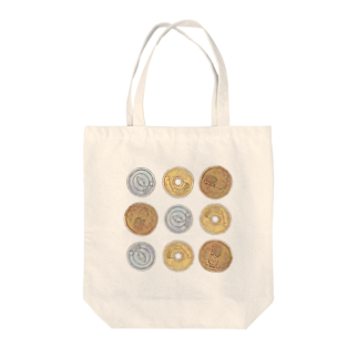 柾の猫硬貨 四拾八 Tote bags