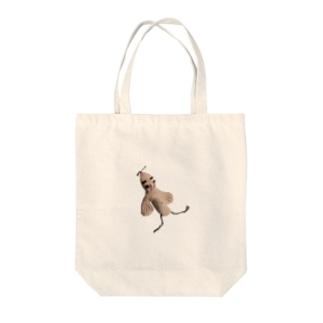 飢草鳥 Tote bags