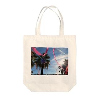 parm tree Tote bags