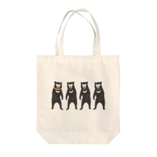 おめかしマレーフォー! Tote bags