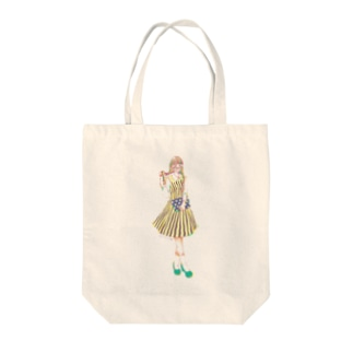 Chu-coolのあの日の彼女005 Tote bags