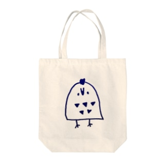 フクロウ Tote bags