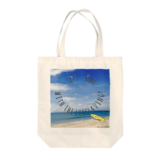 May's cafeのLet's start with the lifesaving! Tote bags