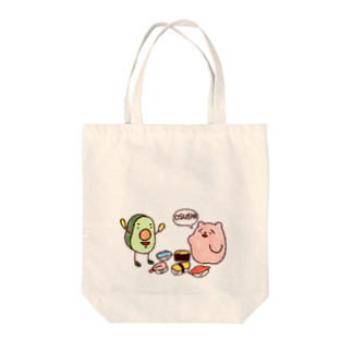 ささきさきÜの野生のOSUSHI Tote bags
