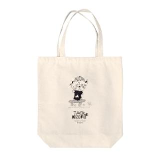 スケボージャックナイフ Tote bags