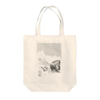 夜な夜な貞子② Tote bags