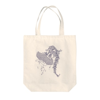 植物少女 Tote bags