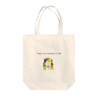 Dreams are necessary to life. Tote bags
