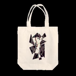 眠田ねむ蔵の分裂 Tote bags