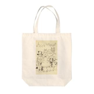 アリス Tote bags