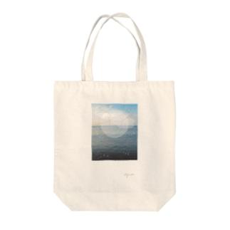 うみのおと Tote bags
