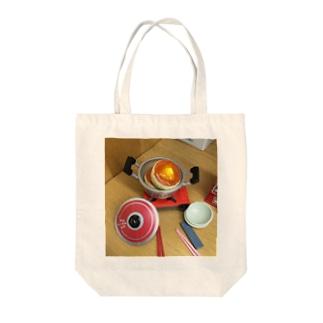 パンケ期の煮込みパンケーキ Tote bags