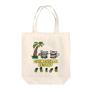 チンチラリゾート Tote bags