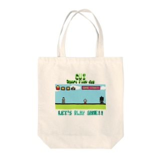 LET'S PLAY GAME!! Tote bags