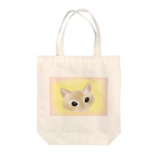 ぽのぽのコロネ Tote bags