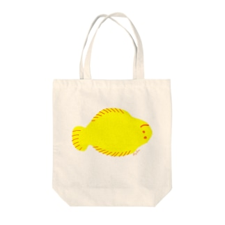 Omelette fish Tote bags