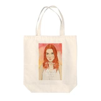赤毛のアン・シャーリー Tote bags