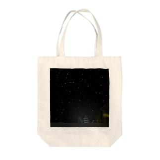 夏ノ夜二君ヲ想ウ Tote bags