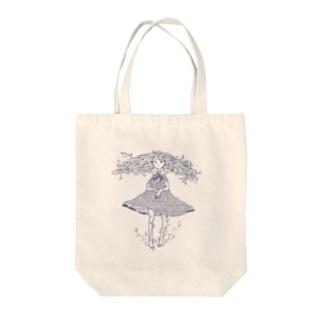 植物少女2 Tote bags