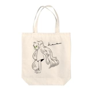 とてもいいこ Tote bags