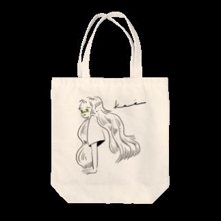 kameのとてもいいこ Tote bags