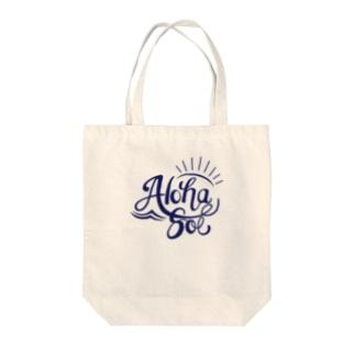 AlohaSol original Logo Tote bags