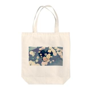 snsknanaのflower Tote bags