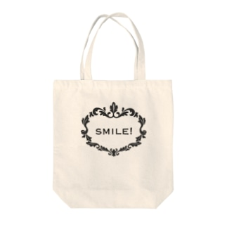 smile! Tote bags