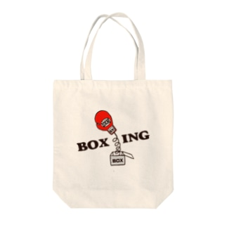 どんぐり'sのビックリボクシング Tote bags