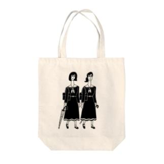 女子高生 Tote bags