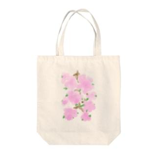 涙花 Tote bags