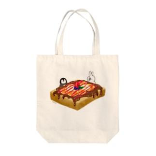 じゅるり。 Tote bags