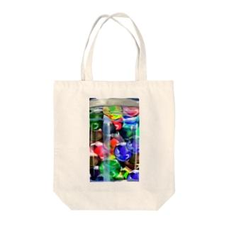 ビー玉(ビビット) Tote bags