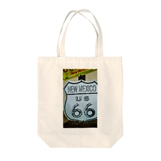 Us66 New Mexico Tote bags