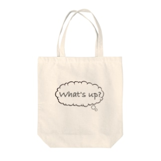 What's up! Tote bags