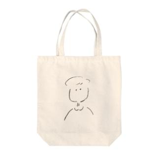 ある娘 Tote bags